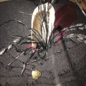Angela William Accessories - Angela Williams Boutique Feather Hat
